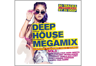 VARIOUS - Deep House Megamix Vol.3-Su - (CD)