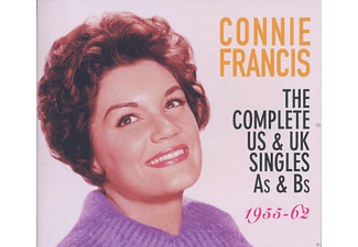 Connie Francis - The Complete US & UK Singles As & Bs 1955-1962 - (CD)