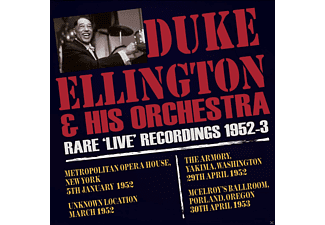 Duke - Orchestra Ellington - Rare Live Recordings 1952-53 - (CD)