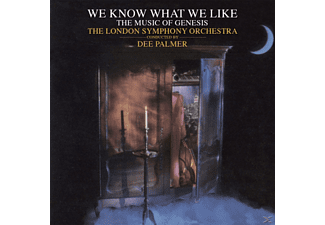 Dee Palmer - The London Symphony Orchestra - We Know What We Like-The Music Of Genesis - (CD)