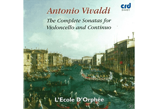 L'ecole D' Orphee - The Complete Sonatas For Violoncello And Continuo - (CD)