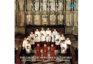 KELLY,FRANCIS & CHOIR OF NEW COLLEGE,THE, Edward/choir Of New College Oxford Higginbottom - Ceremony Of Carols - (CD)