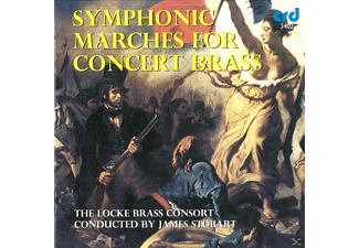 The Locke Brass Consort, Stobart/Locke Brass Consort - Symphonic Marches For Brass - (CD)