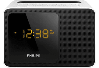 PHILIPS AJT5300W/12 Radiowecker (Digital Radio, UKW, Weiß)