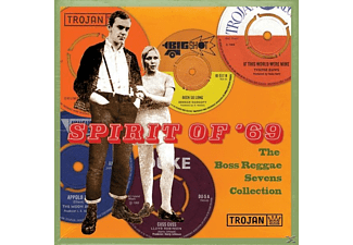 VARIOUS - Spirit Of '69: The Boss Reggae Sevens Coll./8x7'' - (Vinyl)