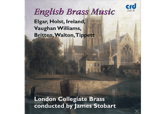 James Stobart, London Collegiate Brass - English Brass Music - (CD)