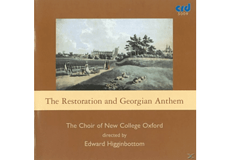 Edward/choir Of New College Oxford Higginbottom - Restoration Anthems - (CD)