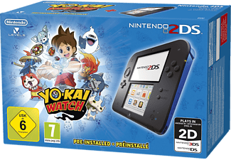 NINTENDO Nintendo 2DS Blau + YO-KAI WATCH