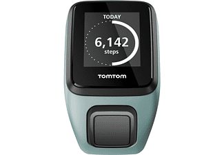 TOMTOM  Spwark 3 Cardio + Music (Small), GPS-Fitnessuhr, 121-175 mm (Small), Aqua