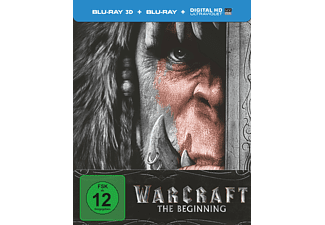 Warcraft - The Beginning (Exklusive Steelbook Edition) [3D BD&2D BD, Blu-ray]
