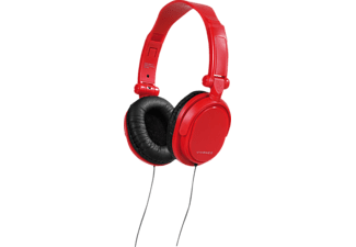 VIVANCO 36516, Over-ear Kopfhörer, Rot