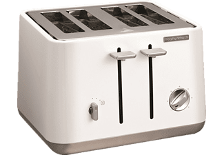 MORPHY RICHARDS 240003 Aspect Toaster Weiß (1800 Watt, Schlitze: 4)