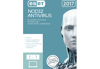 ESET NOD32 Antivirus 2017 Edition 1 User (FFP)