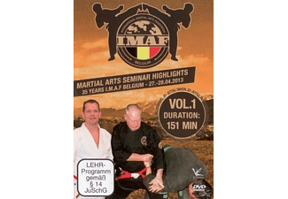 Martial Arts Seminar Highlights: 35 Years Imaf Belgium - Volume 1 - (DVD)