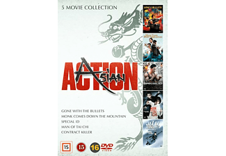 Asian Action Box - 5 filmer Action