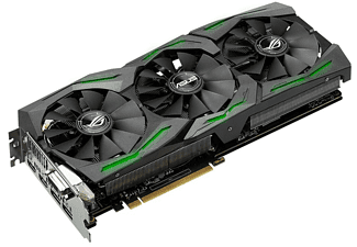 ASUS Radeon RX 480 ROG Strix OC 8GB (STRIX-RX480-O8G-GAMING)(AMD,  Grafikkarte)
