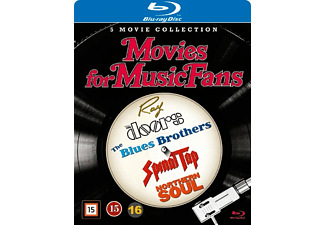 Movies for music fans box - 5 filmer Blu-ray