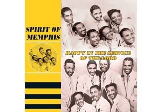 The Spirit Of Memphis - Happy In The Service Of The Lord - (CD)