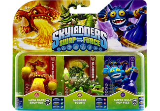 SKYLANDERS Swap Force - Triple Pack A (Lava Barf Eruptor, Slobber Tooth, Super Gulp Pop Fizz) Spielfiguren