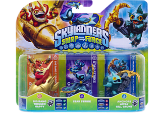 SKYLANDERS Swap Force - Triple Pack C (Big Bang Trigger Happy, Star Strike, Anchors Away Gill Grunt) Spielfiguren