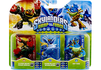 SKYLANDERS Swap Force - Triple Pack E (Hyper Beam Prism Break, Horn Blast Whirlwind, Rip Tide) Spielfiguren