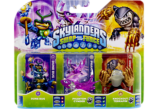 SKYLANDERS Swap Force - Triple Pack F (Dune Bug, Phantom Cynder, Knockout Terrafin) Spielfiguren
