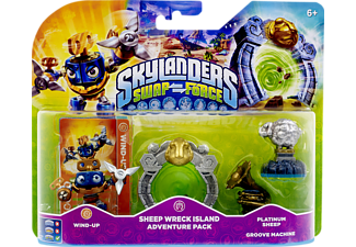 SKYLANDERS Swap Force - Sheep Wreck Island Adventure Pack Spielfiguren
