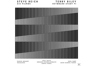 Schwellenbach/Hauschka/Brandt/+ - Steve Reich: Six Pianos (180g LP+MP3/WAV) [LP + Download]