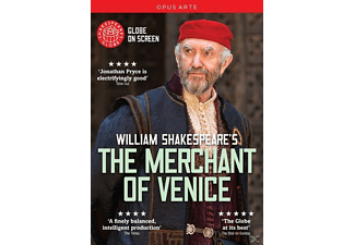 Shakespeare's Globe - THE MERCHANT OF VENISE - (DVD)