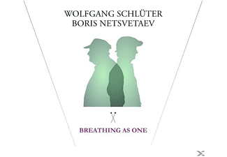 Wolfgang Schlüter, Boris Netsvetaev - Breathing As One - (CD)