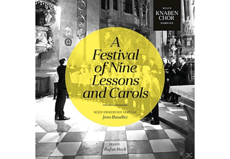 Beck,Rufus/Bauditz,Jens/Neuer Knabenchor Hamburg - A Festival of Nine Lessons and Carols - (CD)