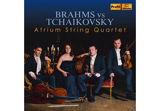 Atrium String Quartet - Brahms vs Tchaikovsky - (CD)