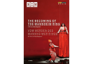 Freyer,Achim/Ettinger,Dan/Berg - The Becoming of the Mannheim Ring - (DVD)