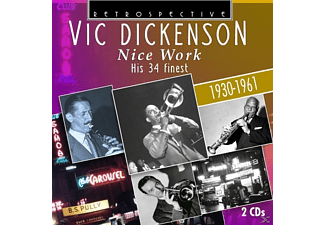 Vic Dickenson - Nice Work-His 34 finest - (CD)