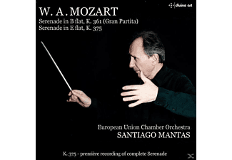 Mantas/European Union Chamber Orchestra - Serenade in B-Dur KV 361 & Es-Dur KV 375 - (CD)