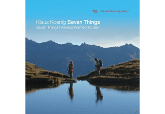 Klaus König Seven Things - Seven Things I Always Wanted To Say [CD]