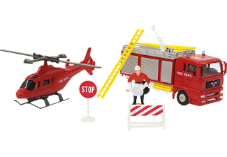 JAMARA Spielset MAN Firefighter
