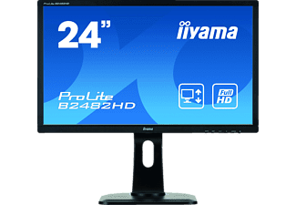 IIYAMA ProLite 24 Zoll HD-ready LED-Monitor (5 ms Reaktionszeit, 60 Hz)