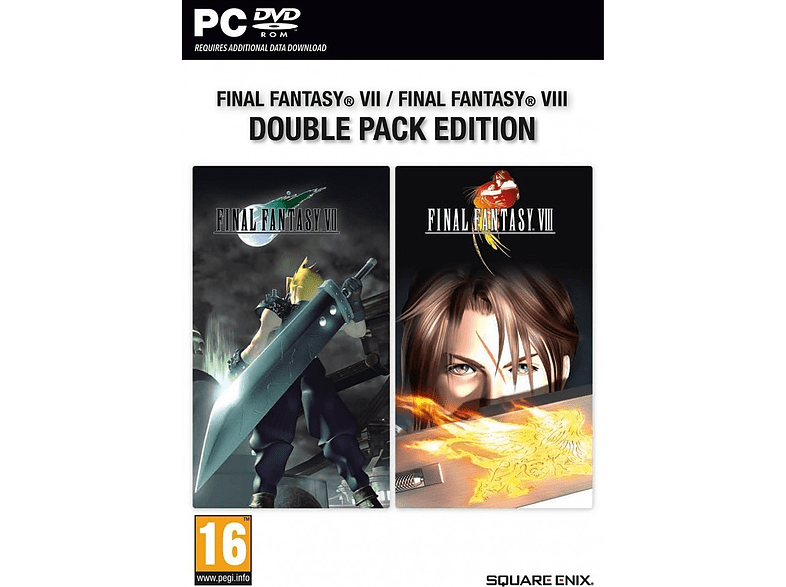 Final Fantasy VII και VIII Double Pack Edition PC gaming   offline pc παιχνίδια pc computing   tablets   offline παιχνίδια pc gami