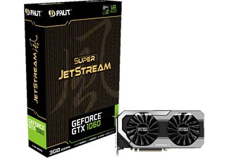 PALIT GeForce GTX 1060 Super JetStream 3GB (NE51060S15F9J)( NVIDIA, Grafikkarte)