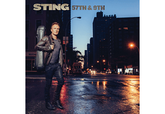 Sting - 57th & 9th (Blue Vinyl) - (Vinyl)