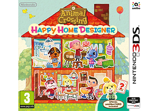 Animal Crossind Happy Home Designer Nocard Nintendo 3DS