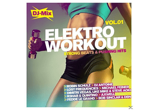 VARIOUS - Elektro Workout Vol.1-Stron - (CD)