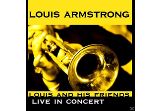 Louis (& His All Stars) Armstrong - Louis And His Friends-Live In Concert - (CD)