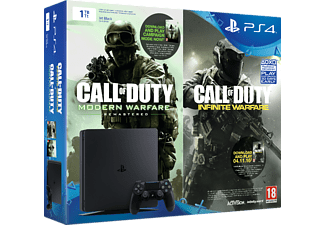 SONY Nya Playstation 4 Slim (Inkl. Call of Duty Infinite Warfare Early Access Bundle) - 1 TB