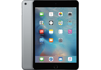 APPLE iPad mini 4 WiFi, Tablet mit 7.9 Zoll, 32 GB Speicher, iOS 9, Space Grau