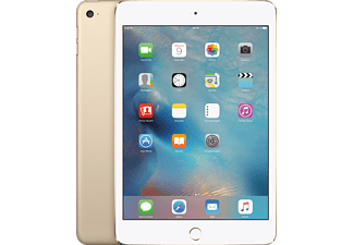 APPLE iPad mini 4 WiFi + Cellular, Tablet mit 7.9 Zoll, 32 GB Speicher, LTE, iOS 9, Gold