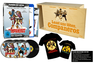 Companeros - Franco Nero (Uncut Limited Collector's Edition) - (Blu-ray + DVD)