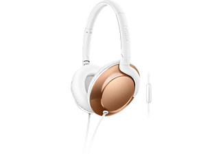 PHILIPS Flite SHL4805RG/00, Over-ear Kopfhörer, Headsetfunktion, Rosegold