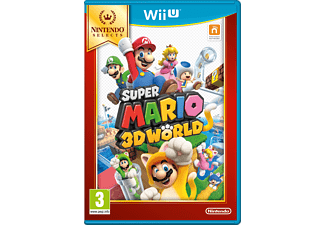 Selects Super Mario 3D World Wii U